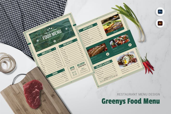 Thumbnail for Greenys Food Restaurant Menü