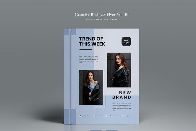 Creative Fashion Flyer