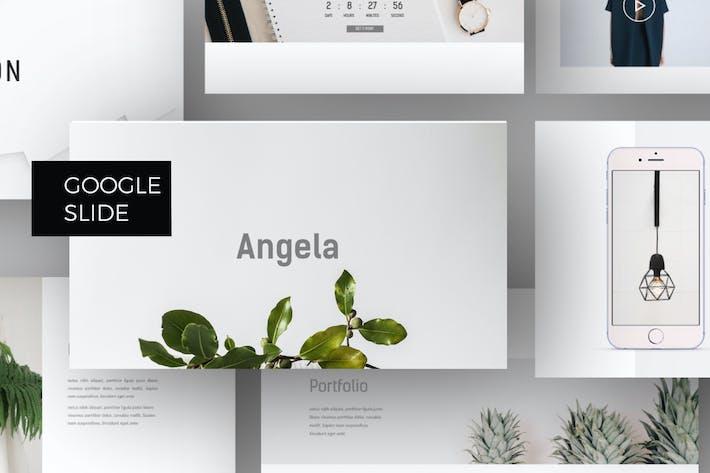 Thumbnail for Angela - Google slide