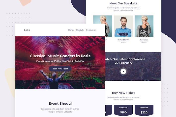 Thumbnail for Concierto de Música - Correo electrónico Boletín informativo