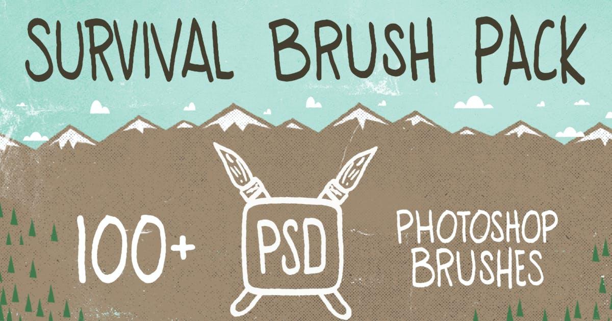 PSD Survival Brush Pack by jasonheglund
