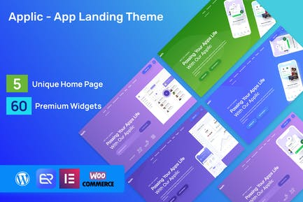 Applic - app landing page