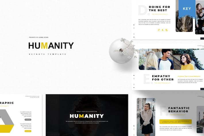 Thumbnail for Humanity | Keynote Template