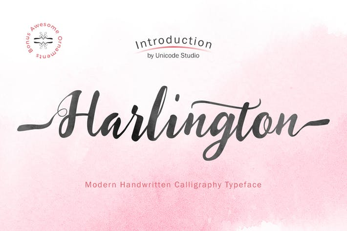 Cover Image For Harlington Script