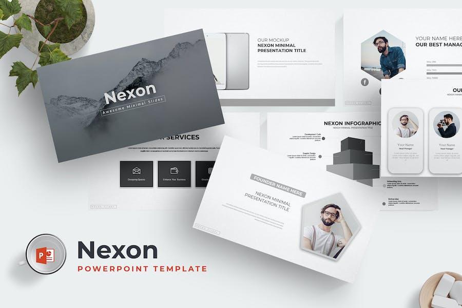 Nexon - Powerpoint Template