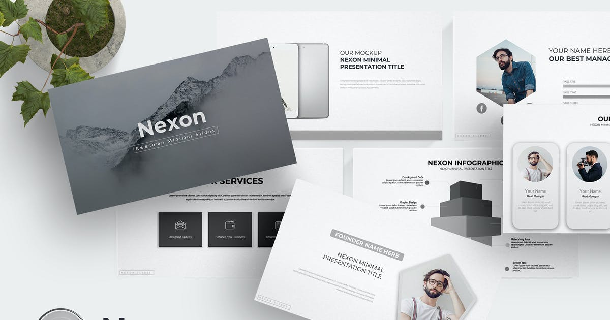 Download Nexon - Powerpoint Template by aqrstudio