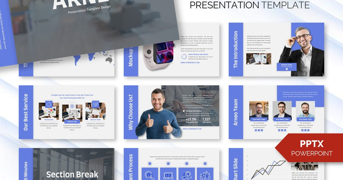 Download Arneo - Business Powerpoint Template by RaviraCreative