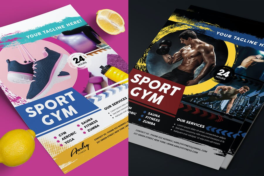 Fitness & Sport Flyer