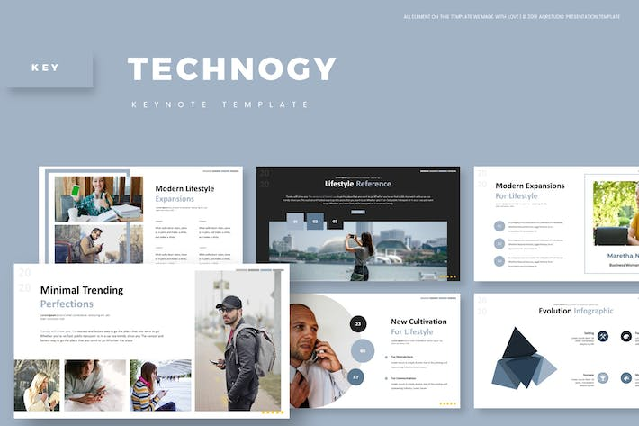 Cover Image For Technogy - Keynote Template