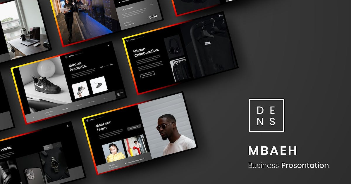 Download Mbaeh – Business PowerPoint Template by DensCreativeStudio
