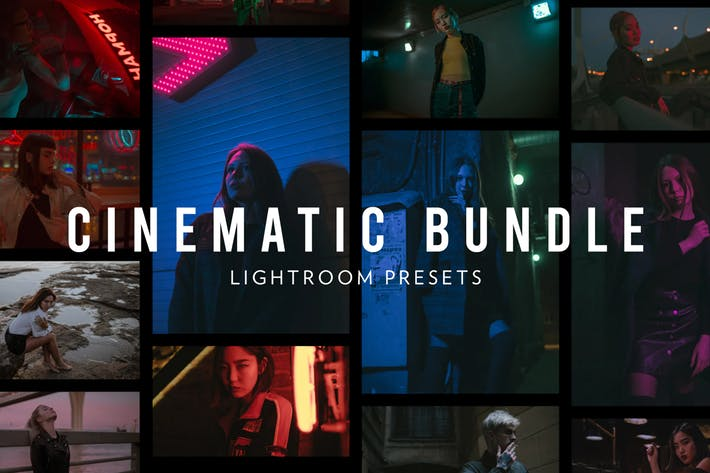 Thumbnail for Cinematic Lightroom Presets