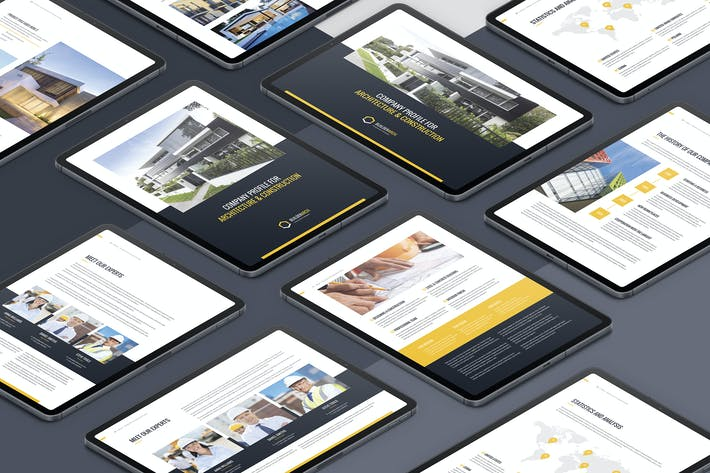 Thumbnail for BuilderArch – eBook Company Profile Bundle 2 in 1
