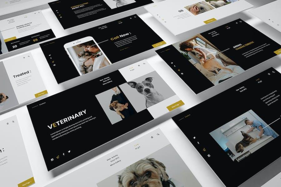 Veterinary Association Google Slides Presentation