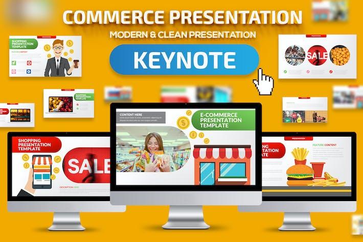 Thumbnail for E-commerce Keynote Presentation