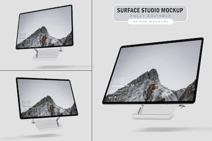 Surface Studio Mockup. V.1