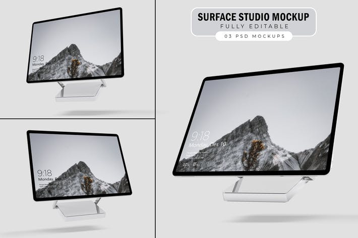 Thumbnail for Surface Studio Mockup. V.1