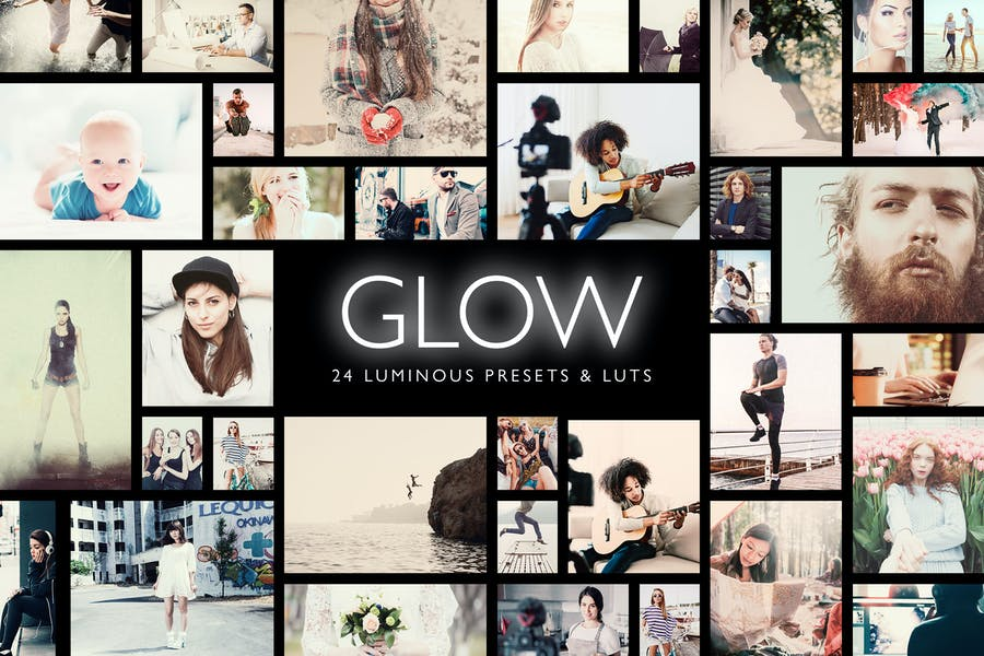 Glow - 24 Luminous Presets + LUTs