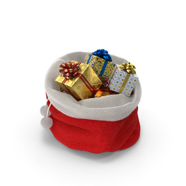 Cover Image for Santa's Bag with Gifts