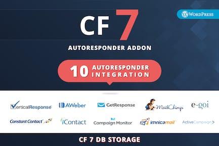 CF7 Auto Responder Addon
