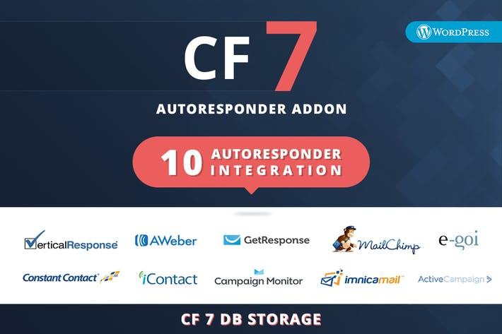 Cover Image For CF7 Auto Responder Addon