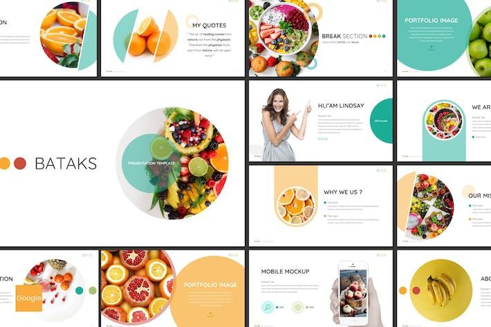 Thumbnail for Bataks - Fruit Google Slides Template