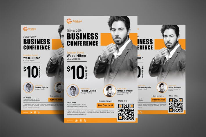 Thumbnail for Business Conference Poster Flyer