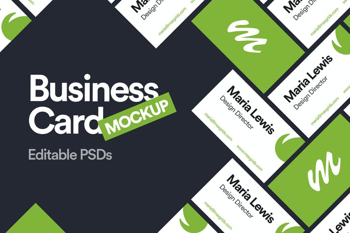 Thumbnail for Business Card Mockup 04