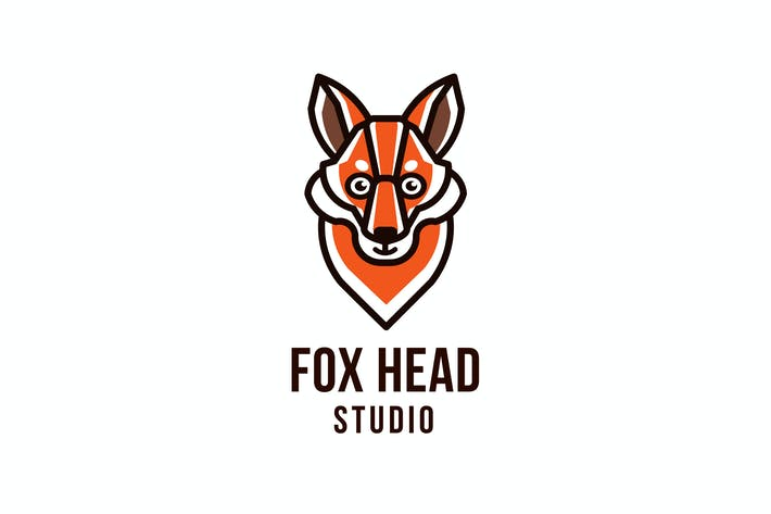 Thumbnail for Fox Head Studio Logo Template