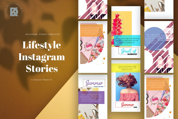 Thumbnail for Lifestyle Instagram Stories
