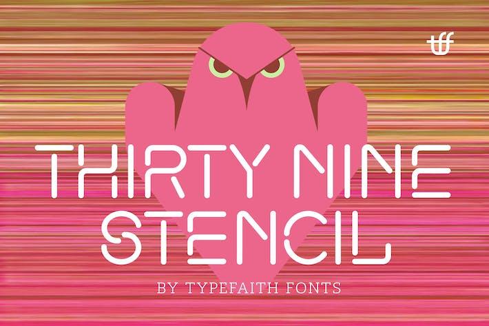 Thumbnail for Treinta y nueve plantillas