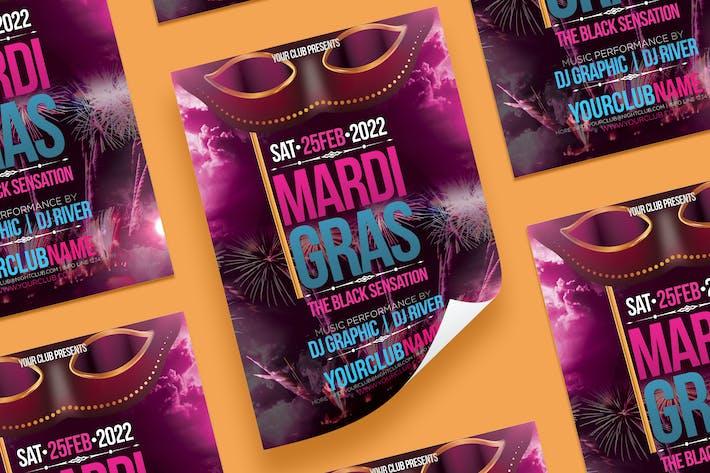 Thumbnail for MardiGras Flyer