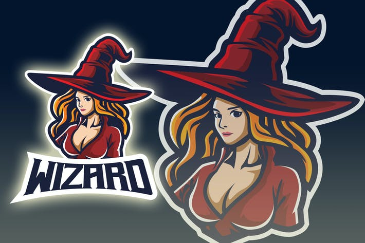 Thumbnail for Witch Esport Logo