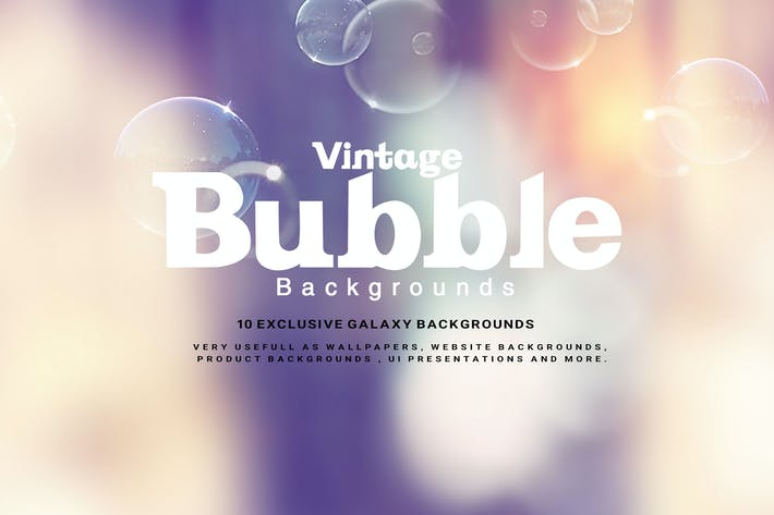 Thumbnail for Vintage Bubble Backgrounds