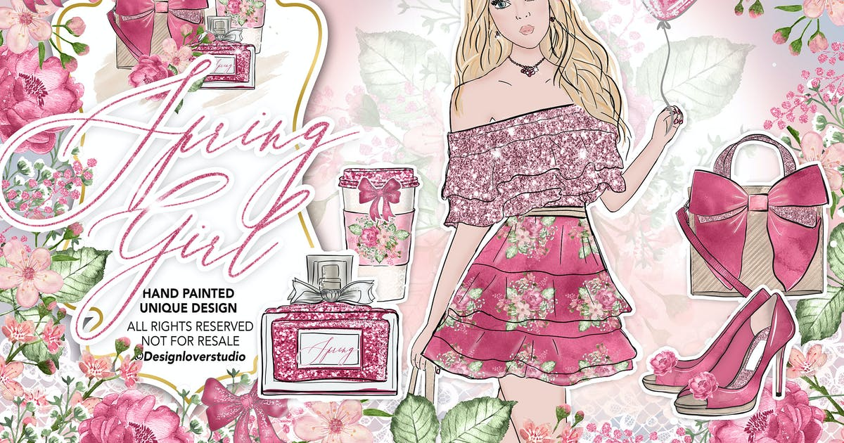 Download Spring Girl design by designloverstudio