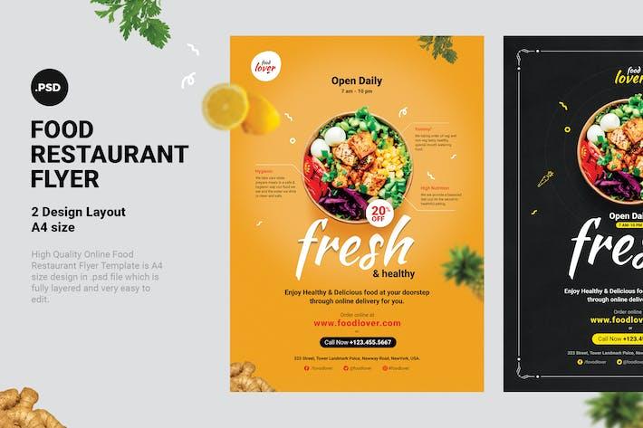Thumbnail for Food Restaurant Flyer