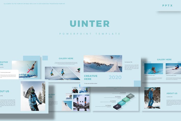 Cover Image For Uinter - Powerpoint Template