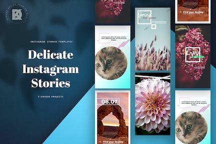 Delicate Instagram Stories