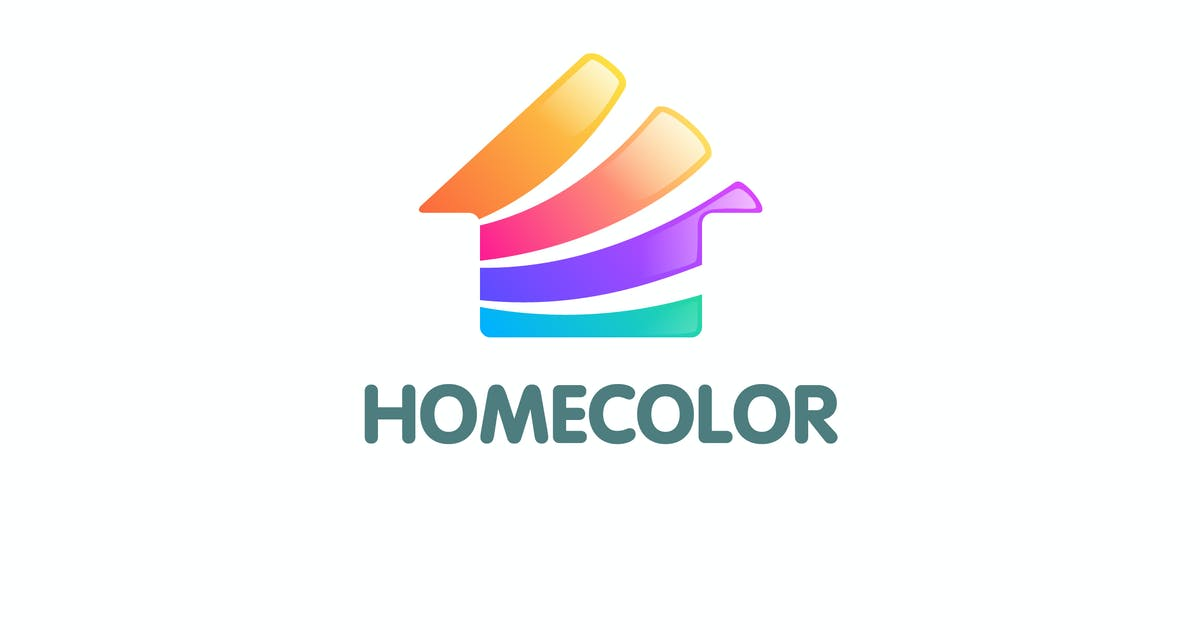 Download Modern Colorful Home Color Logo by Suhandi