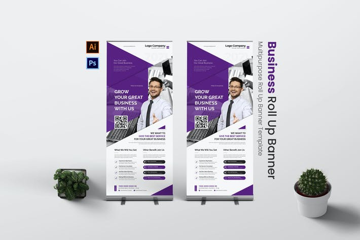 Growth Business Roll Up Banner