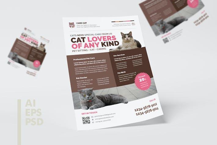 Thumbnail for Pet Shop Flyer Design
