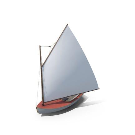 Modernes Segelboot