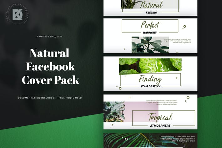 Thumbnail for Natural Facebook Cover