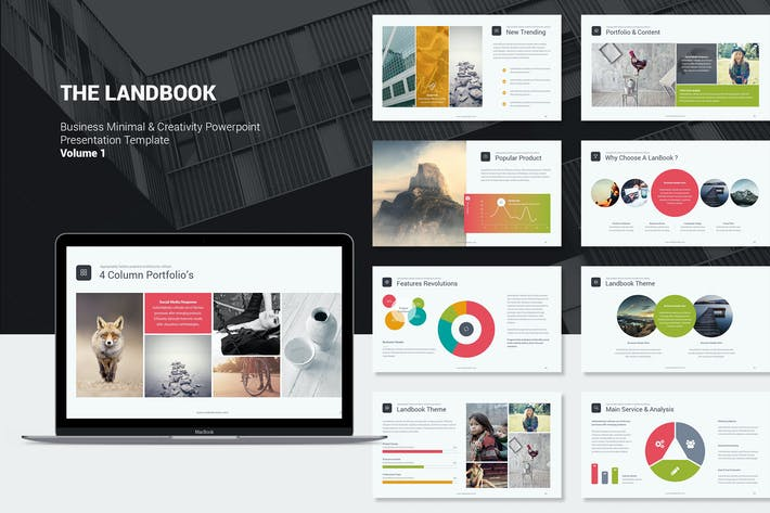 Cover Image For Landbook Business Template