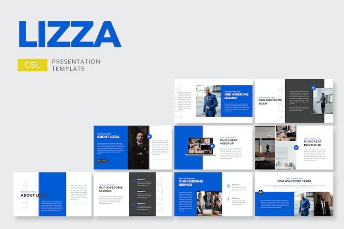 Thumbnail for Корпоративный компания Lizza - Google Слайды