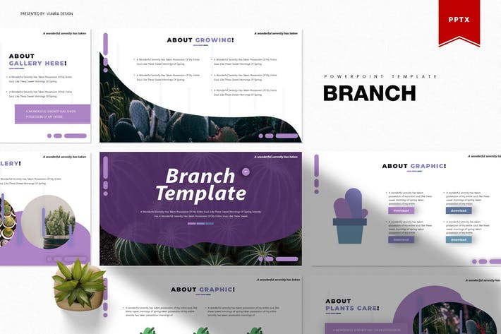 Thumbnail for Branch | Powerpoint Template