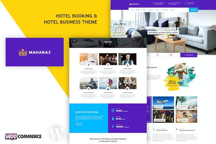 Maharaj Hotel - Hotel Buchung WordPress Thema