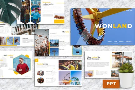 Wonland – Creative Business PowerPoint Template
