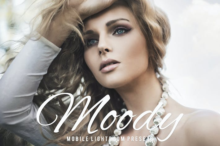 Thumbnail for Moody Mobile Lightroom Presets