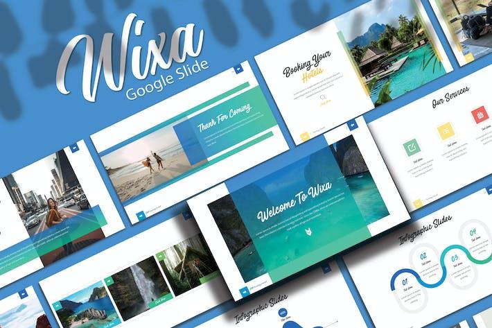 Thumbnail for WIXA - Шаблон слайдов Google