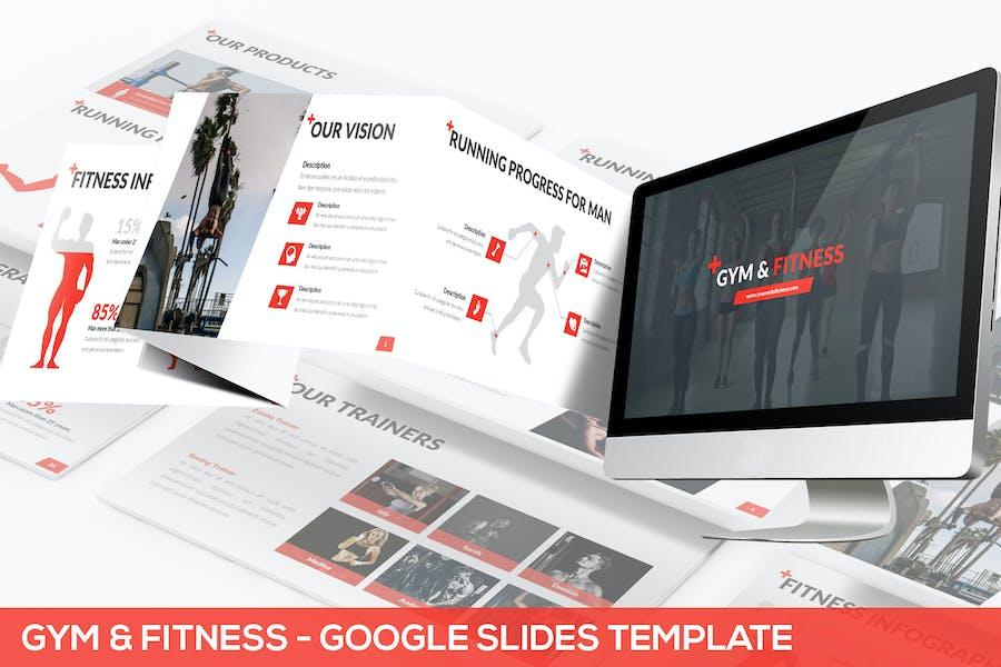 Gym & Fitness - Google Slides Template